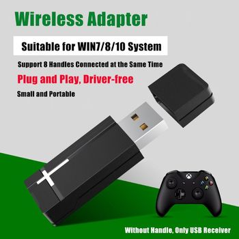 pc 8 1 Pc 2.4G PC Wireless Adapter USB Receiver For Xbox One Wireless Controller Adapter for Windows 7/8/10 Laptops PC