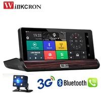 7 inch 3G Andriod 5.0 GPS Navigation Car DVR Camera Bluetooth DVR Dash Cam Video Recorder WiFi DVR FHD 1080P DDR RearView Camera
