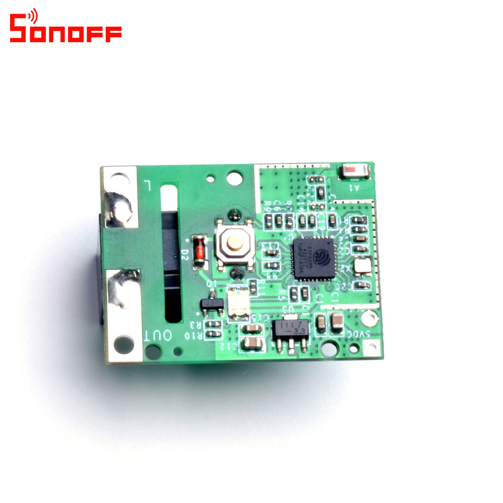 Image 2 - 3/5/10PCS  Sonoff RE5V1C 5V DC Dry Contact  Inching/Selflock Module Switch Work via eWelink APP Support Alexa Google Home IFTTTHome Automation Kits   -