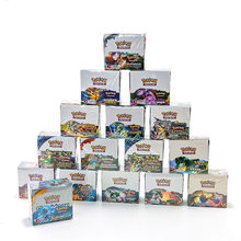324Pcs/ Pokemon Box Collectible Cartas 최신 카드 Sun & Moon Sword & Shield 영어 트레이딩 카드 게임 Evolutions Booster Card