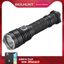 Новинка 2017, светодиодный тактический фонарик SKILHUNT S2 PRO CREE XP L HD или HI с USB зарядкой, 1250 люмен/1100 люмен