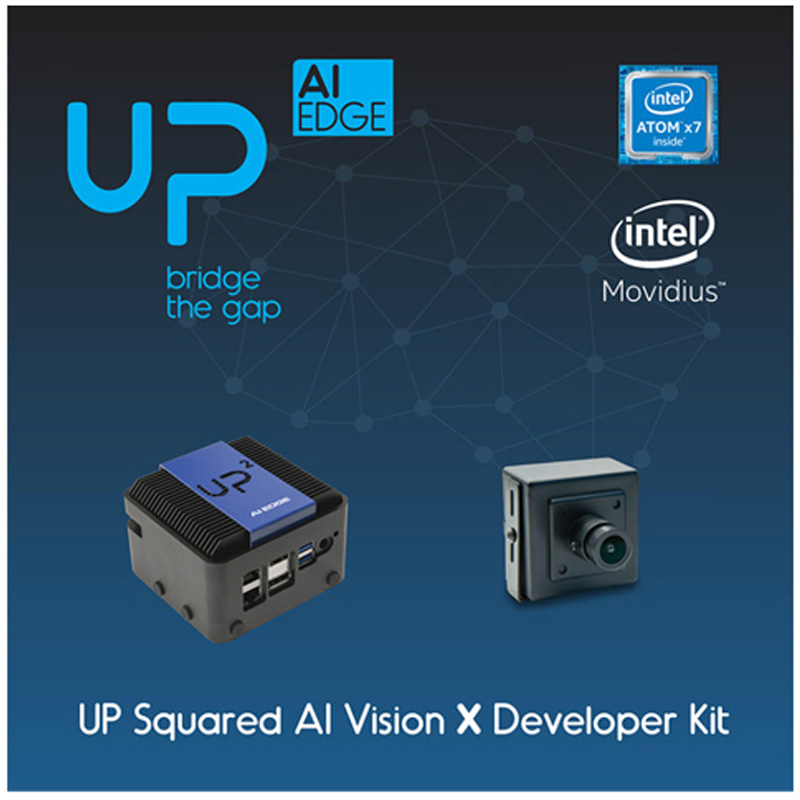 UP Squared AI Vision X Vision Development Kit OpenVINO+win10 Development Board