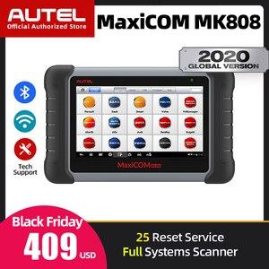Image 1 - Autel maxicom MK808車診断ツールすべてのシステムobd診断ツール自動車用スキャナー自動コードリーダースキャンツールオリジナル