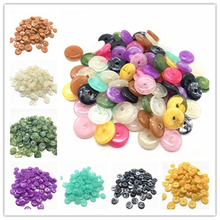 New 50pcs 12mm of Acrylic Beads Earrings Necklace Accessories For Jewelry Making DIY Findings
