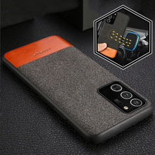 Fabric Magnetic phone case For samsung Galaxy note 20 ultra s20 s10 s21 plus back cover business Case for samsung a51 a71 a50