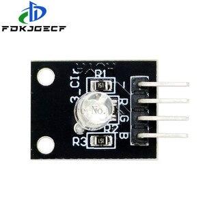 10 pçs/lote 4pin KY-016 três cores 3 cor rgb led sensor módulo para arduino diy starter kit ky016
