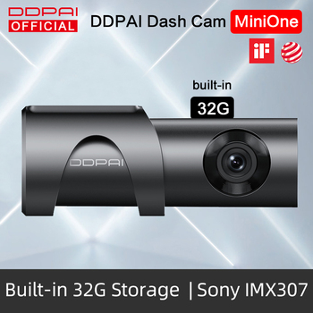DDPai Dash Cam Mini One Night Vision 1080P Full HD DVR Car Camera Android Wifi Auto Drive Vehicle Video Recroder Build-in 32GB