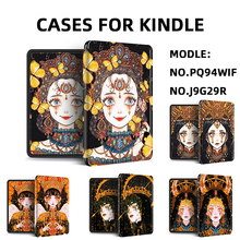 Funda Paper Kindle 10th-Generation-Case White for Anime Dark-Queen KPW4