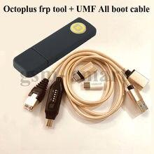 2020 original OCTOPLUS FRP WERKZEUG DONGLE + UMF ALLE Boot kabel für telefon frp entsperren