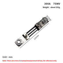 1PC FL-2 250A 300A 400A 500A/75mV External Shunt DC Current Meter Shunt resistor For Digital Ammeter amp DC amperometro Pointer
