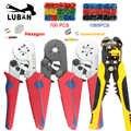HSC8 6-4 6-6 Multifuncional crimppring כלים crimppers חדש דגם משושה מרובע עבור VE מחברים