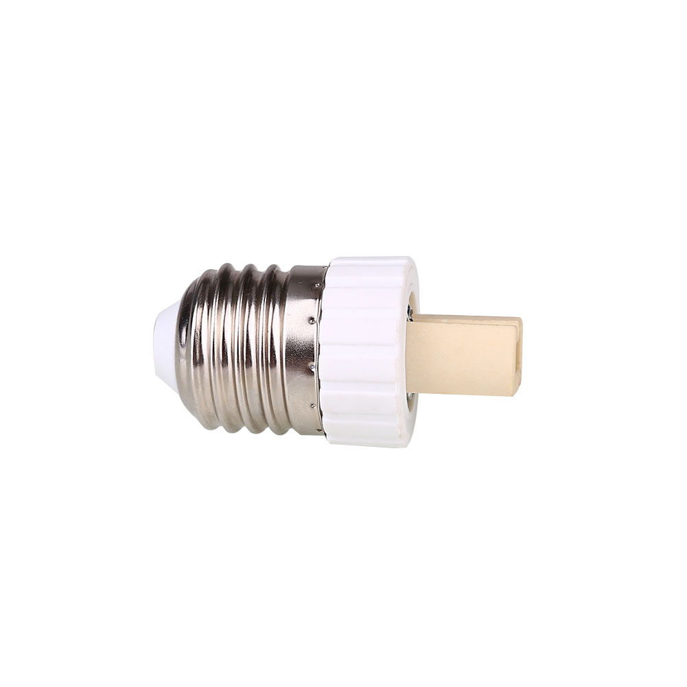 1pcs Ceramic E27 To G9 Lamp Holder Adapter LED Bulbs Converter Flame-Retardant HOusehold Products Home Hand Tools Light Supply