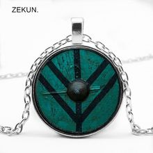 LIAOZEKUN.2019/New Gothic Glass Cabochon Pendant with Photo Necklace Bump Men and Women