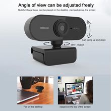 Мини веб камера hd 1080p для ПК с микрофоном