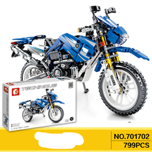 702pcs Technic Motorcycle Compatible MOTO off load Car Creator Expert Building Blocks City Toys For Children Boys Classic Bricks 1122pcs 8in1 swat city police station building blocks compatible technic car truck creator bricks toys for children boys gifts