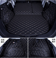Без запаха  подгонянные полностью окруженные водонепроницаемые автомобильные коврики для багажника Hignlander/RAV4/Yaris/Corrola/Camry PE + XPE + нескользящи...