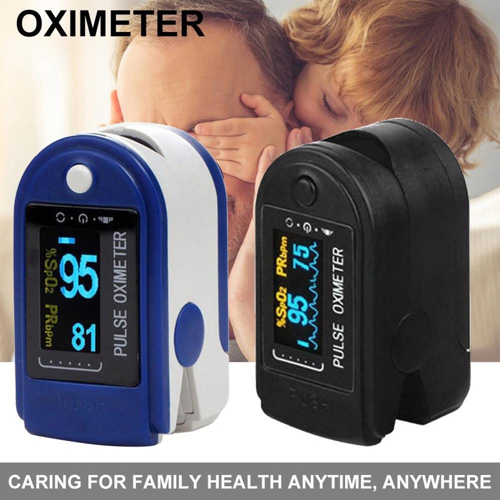 Rate Saturation Meter OLED Monitor Medical Portable Finger Oximeter Fingertip Pulse Oximeter Medical