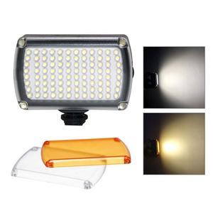 Image 2 - 96LED profesyonel LED Video işığı dolgu işığı 3200 K 5600 K kısılabilir flaş lambası DJI Osmo cep 3 2