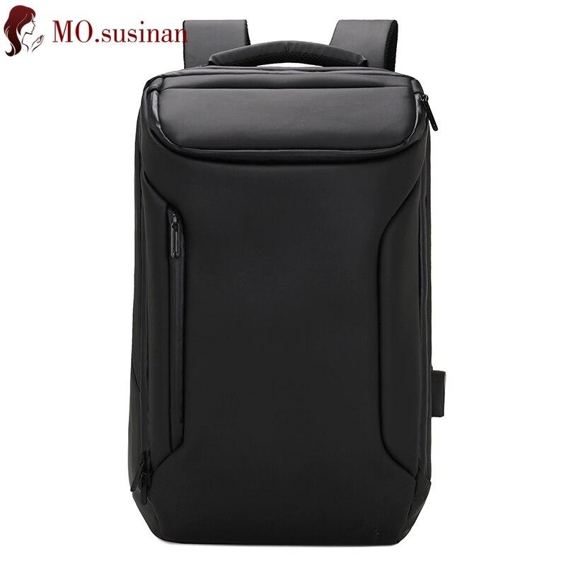 Мужской рюкзак 17 дюймов Рюкзак Для Ноутбука Ткань Оксфорд водонепроницаемый Противоугонный рюкзак USB большой бизнес досуг путешествия