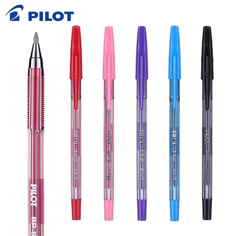 6PCS Pilot BP-S-F 0.7mm Colors Fine Ball Point Pen Writing Supplies Office & School Supplies