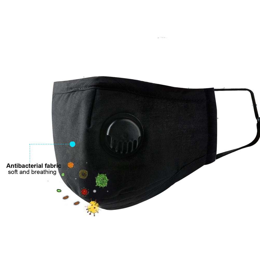 Reusable Face Mask  Dustproof Breathable Face Mask Filter Activated Carbon Pm2.5 Adult And Child Face Mask