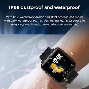 Image 5 - Lenovo Watch Sport Smart Wristband 1.3 Inch 2.5D IPS Screen IP68 Deep Waterproof Weather Display Heart Rate Monitoring Watch
