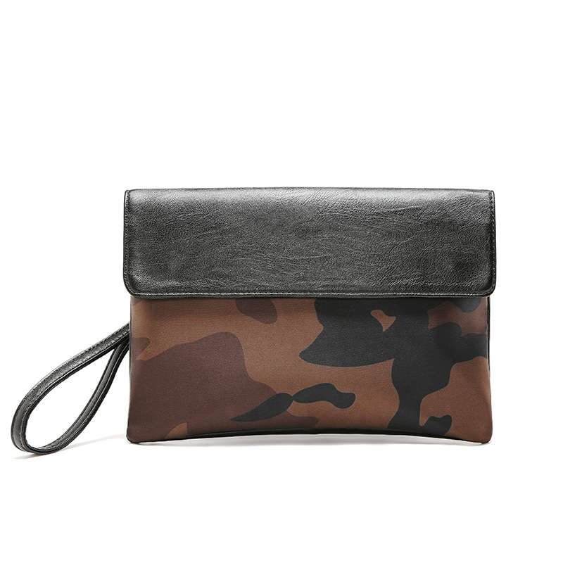 Image 5 - Street casual iPad clutch bag envelope bag men and women tide leopard camouflage clutch bag-in Crossbody Bags from Luggage & Bags