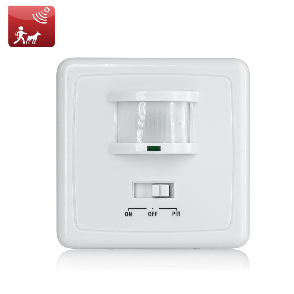 High Quality Wall Mounted Pir Motion Sensor Light Switch