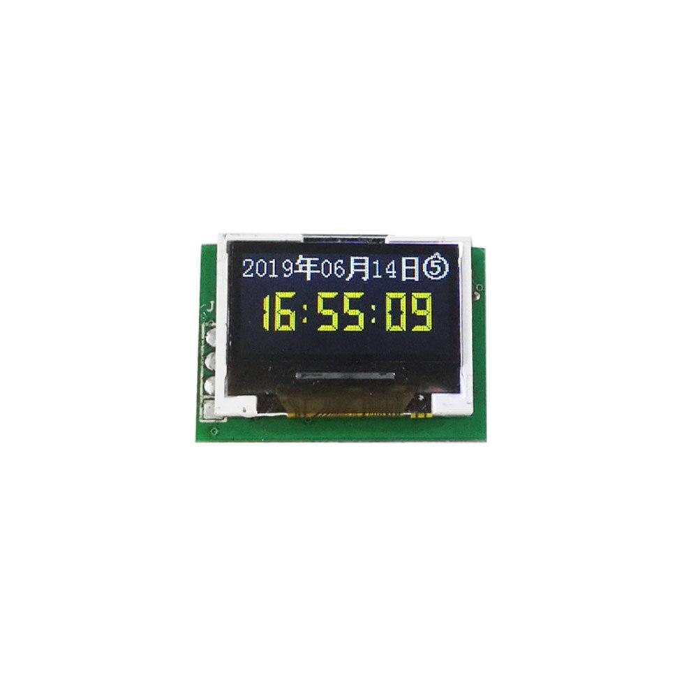Taidacent Sound Balance Mini Color Music Spectrum Display Module 0.96 Inch IPS Color Screen Multi Mode Sound Level Indicator