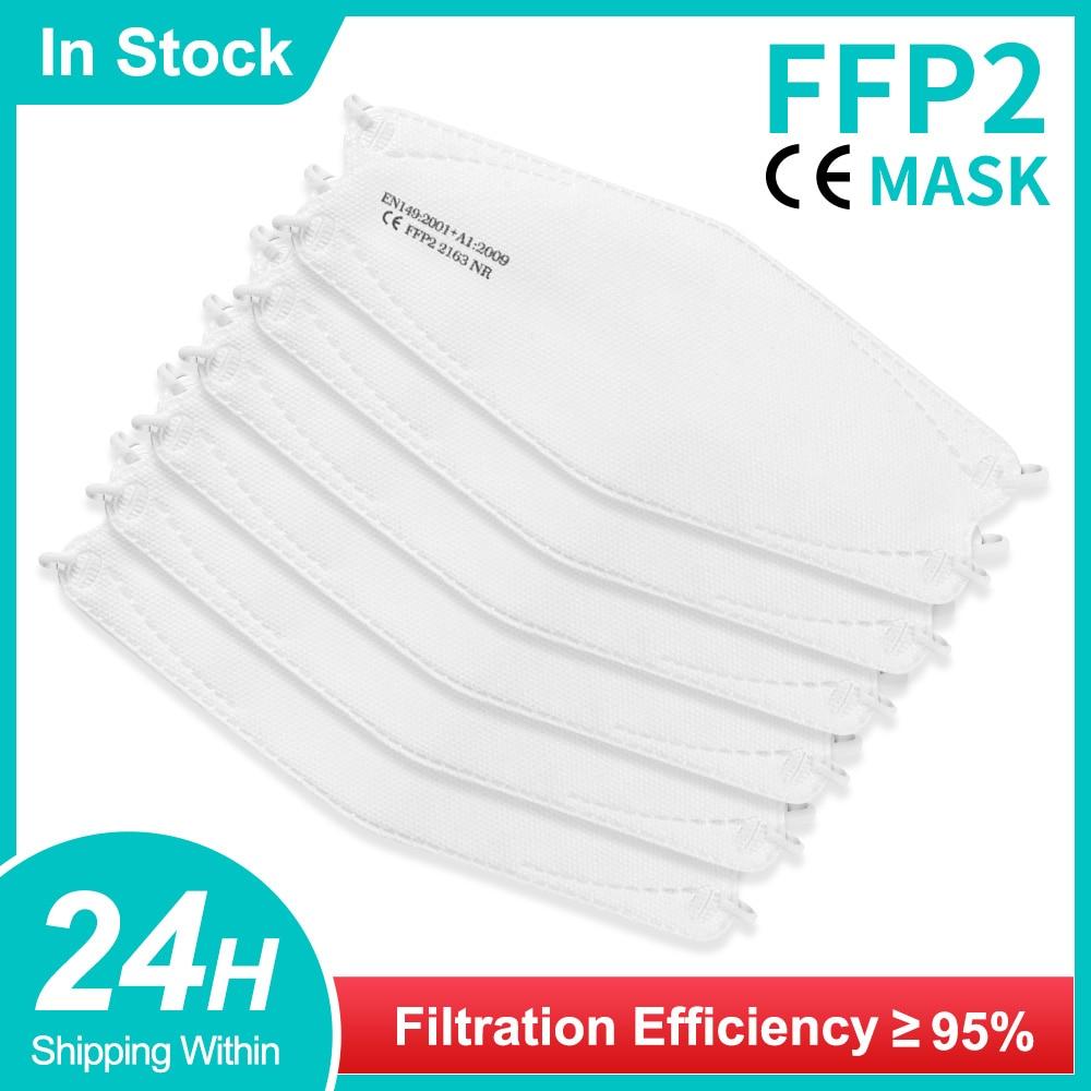 FFP2 mask Fish Shape Face Mask KN95 Mascarillas ffp2 Adult Reutilizable Approved fpp2 mask Respirator FPP2Homologada CE fpp2mask