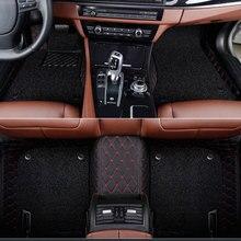 Custom Car Floor Mats For Mitsubishi Pajero Outlander ASX Lancer SPORT EX Zinger FORTIS Grandis Galant all car floor mat Covers цена и фото