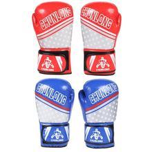 CHUNLONG 2 шт 12 унций боксерские тренировочные перчатки для женщин и мужчин дышащие перчатки