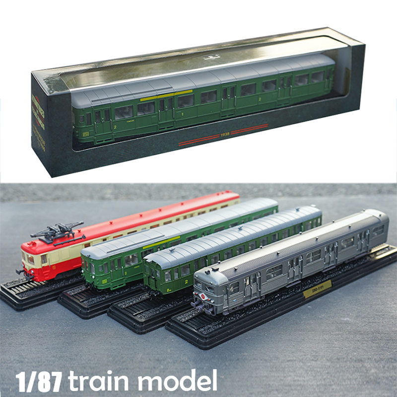 1: 87 Train Model  Simulation Model Of Electric Locomotive And Tram  Collection Of Ornaments  Semi Alloy  A Variety Of