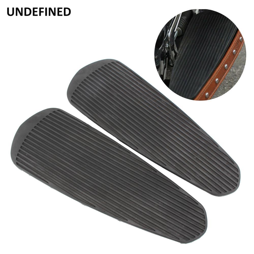 Черный мотоцикл Floorboard ножная педаль коврик для индийского шефа винтажный Chieftain Темный конь Roadmaster классический Спрингфилд