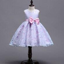 Зимнее Сетчатое рождественское праздвечерние чное летнее платье принцессы 3 года без рукавов
