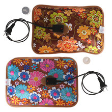 1PC Printing Rechargeable Electric Hot Water Bottle Hand Warmer Heater Bag For Winter(China)