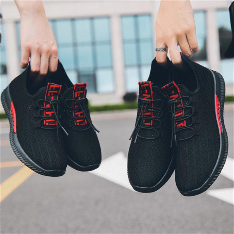 transpirables de malla de aire para hombre al aire libre Zapatos deportivos de pareja talla 35-44 Zapatos de entrenamiento para correr Zapatos de Hombre zapatillas De deporte Mujer Jogging Zapatos Mu