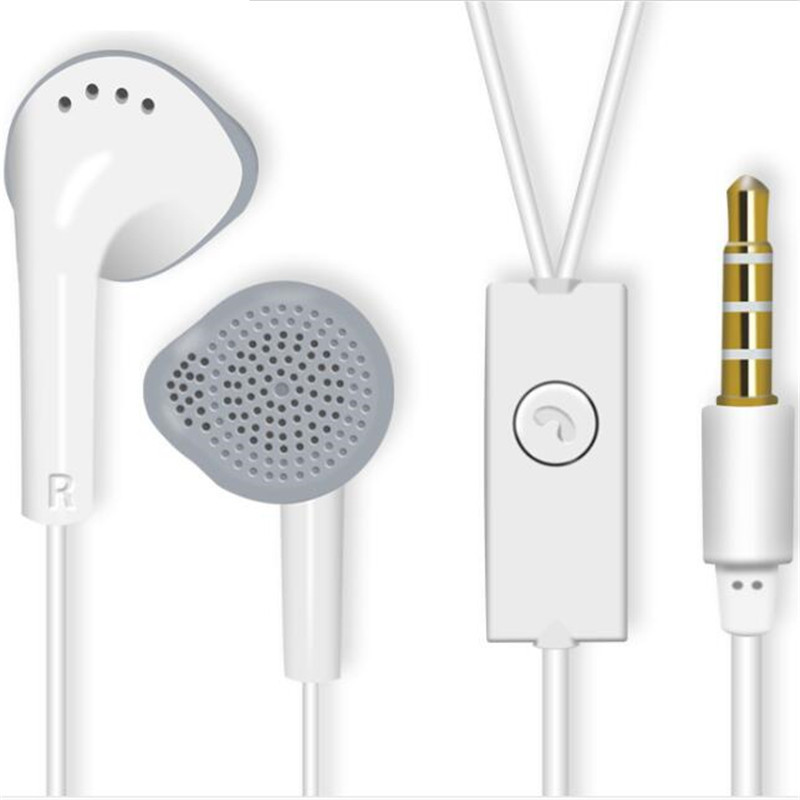 1pcs New Original Stereo Bass Earphone Metal 3.5mm Earbuds For Samsung S5830 S5630 For Galaxy