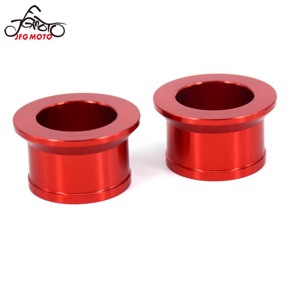 Motorcycle Rear Aluminum Wheel Hub Spacer For Honda CR125R CR250R CRF250R CRF250X CRF450R CRF450X CR 125R 250R CRF 250X 450R
