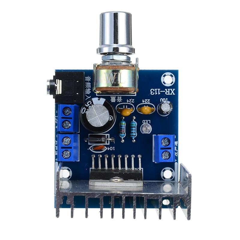 TDA7297 2 Channel Amplifier Boards AC/DC 12V 2x15W Digital Audio Amplifiers Dual Channel Module Board
