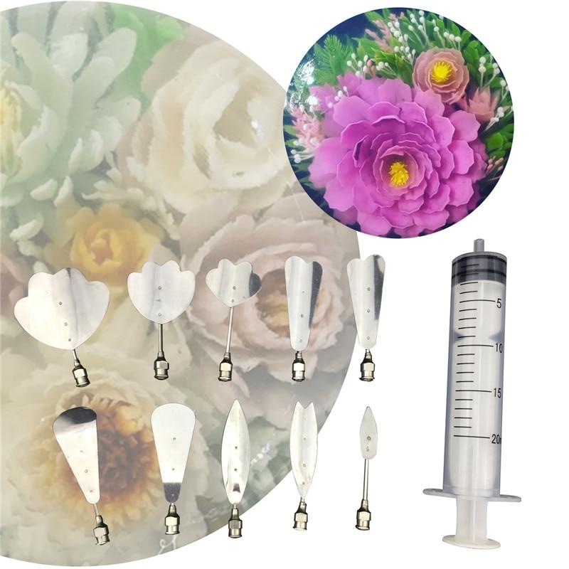 3D желатиновые желейные цветы художественные инструменты Jello Gubbins пудинг Насадка На Шприц Набор русские насадки