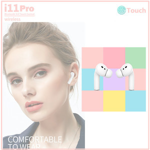 i11 Pro i12TWS wireless headset Bluetooth sports earbuds inPods 12 upgraded version headset smart pop-up touch with charging box