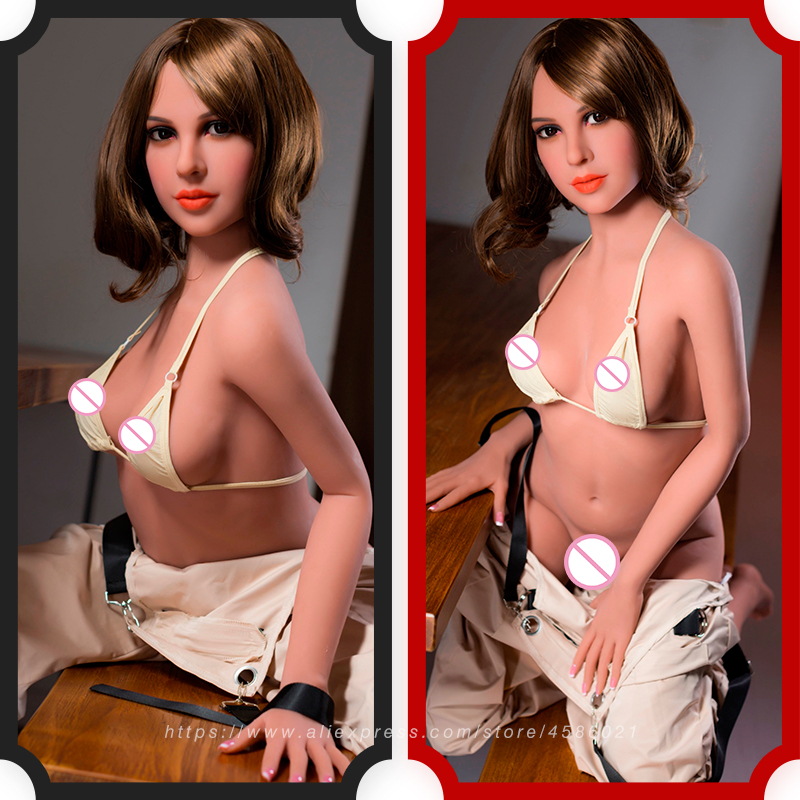 Full Body 170cm Silicone Sex Doll Life Size Love Doll with Huge Breast and Metal Skeleton