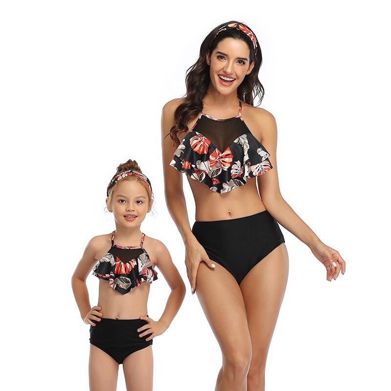 Sexy High Waist Bikinis 2020 Plus size Swimwear Women and Girls two piece swimsuit for bathing suit body suit Bikini set mayo