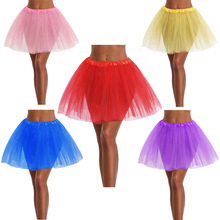 3 Layers Mommy and Me Tutu SKirt Women Adult Tulle Skirts Baby Girls 2-8Y Pink Pettiskirt Ballet Dance Tutus