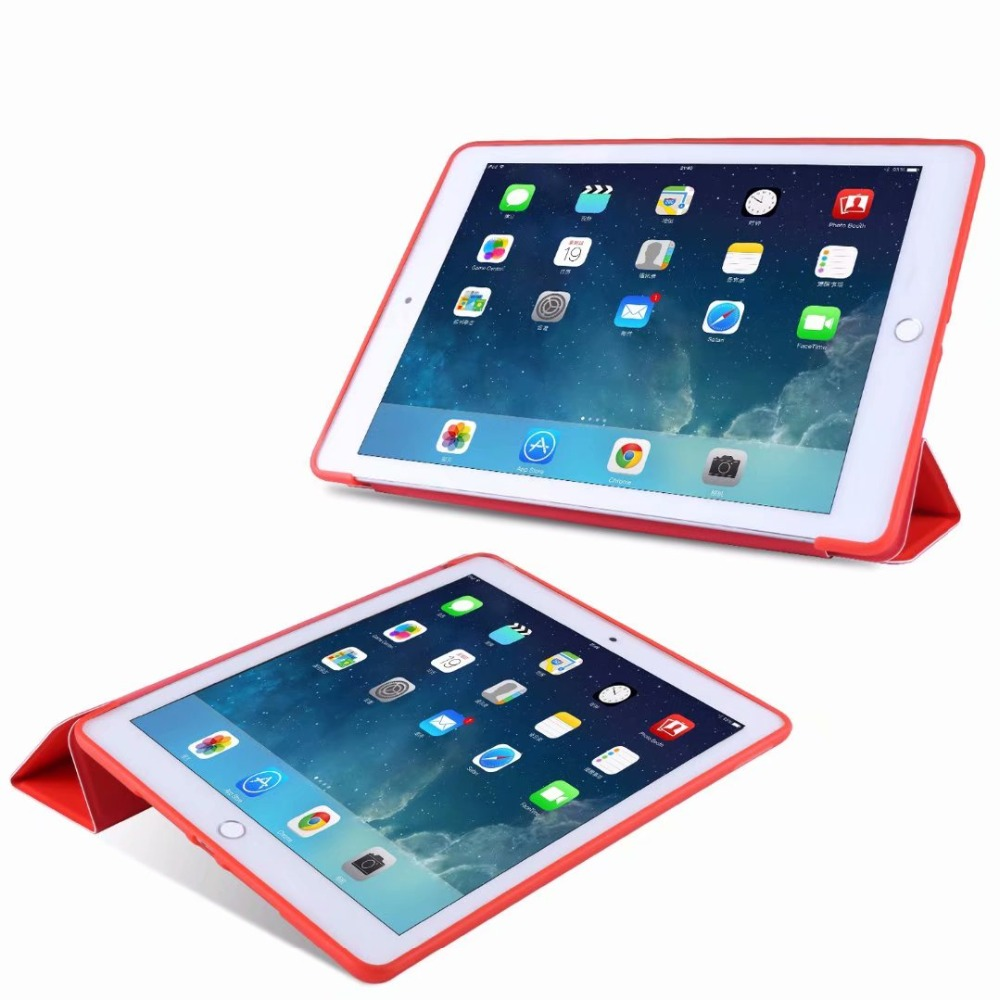 Slim 2 Cover TPU For Tablet 10.2 For Case Ipad iPad Case 10 Smart Tri-fold Soft light