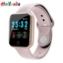 Hollvada, женские Смарт-часы, мужские, монитор здоровья, напоминание о звонках, фитнес-трекер, дисплей погоды для Apple Watch, умные часы