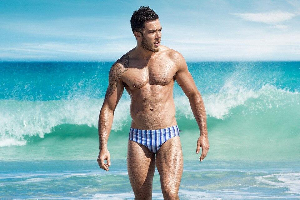 Sexy men swimwear mens swim briefs man swimsuit bikini male surf swimming shorts