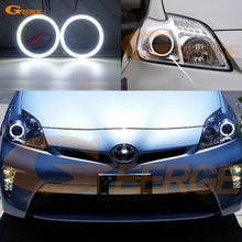 цена на For toyota prius 2010 2011 2012 2013 Excellent led Angel Eyes Ultrabright illumination smd led Angel Eyes Halo Ring kit