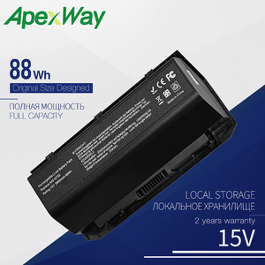 ApexWay 15V A42-G750 New Laptop Battery for ASUS G750 G750J G750JH G750JM G750JS G750JW G750JX G750JZ Series 88WH